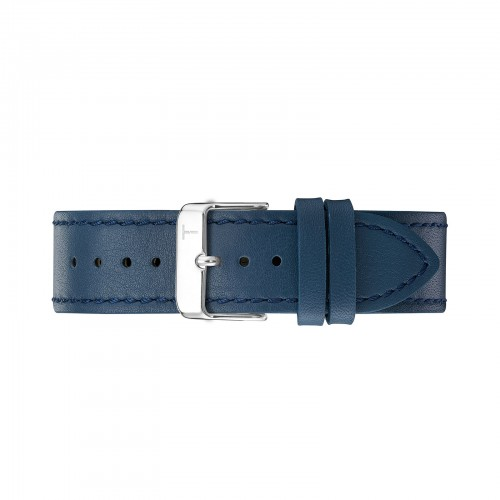 NAVY/ SILVER 18MM TLB-AG003