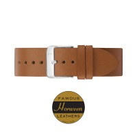 TAN/ SLIVER 18MM TLB-AH001